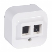 Legrand Forix Ip20 - Adapter Keystone 2xrj45